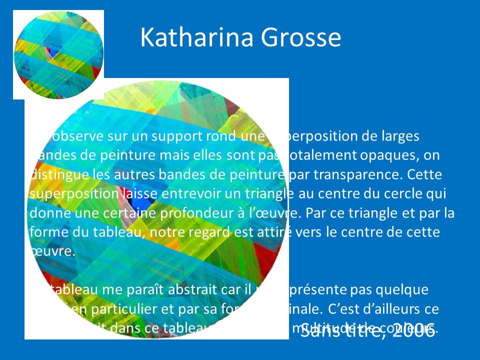 Katharina Grosse Sans titre, 2006