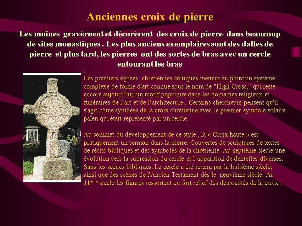 Anciennes croix de pierre