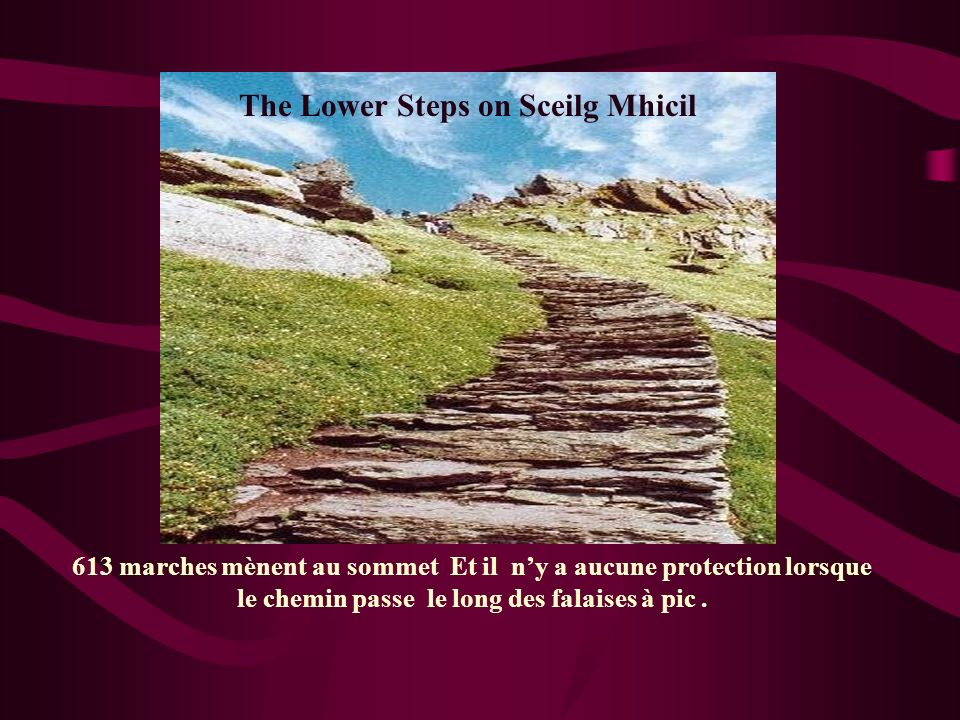 The Lower Steps on Sceilg Mhicil