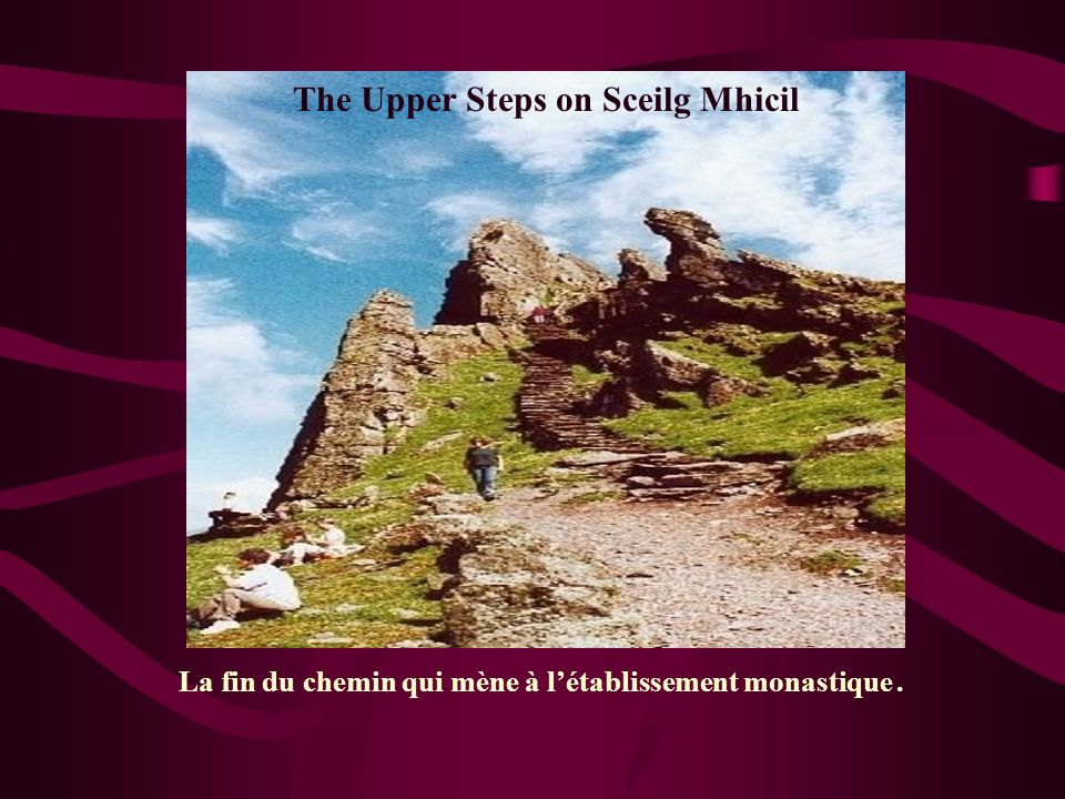 The Upper Steps on Sceilg Mhicil