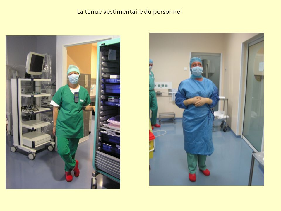 La tenue vestimentaire du personnel