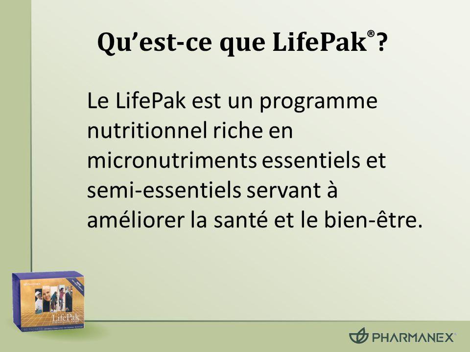 Qu'est-ce que LifePak®
