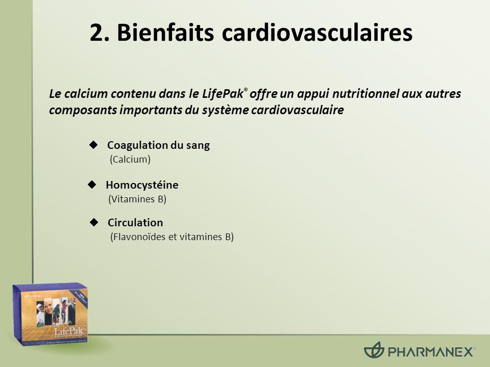 2. Bienfaits cardiovasculaires