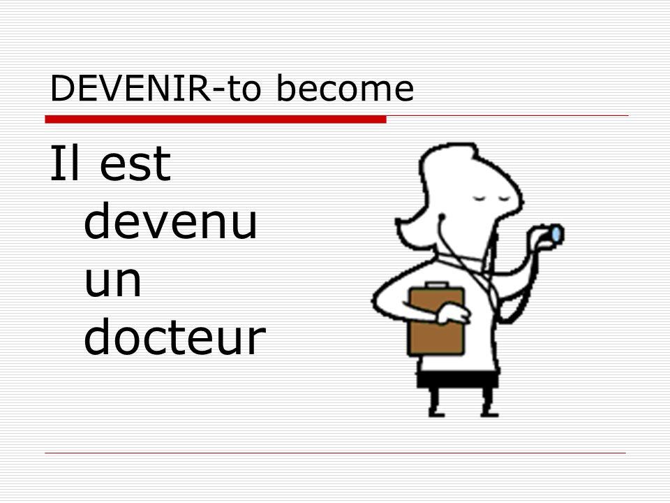 Il est devenu un docteur