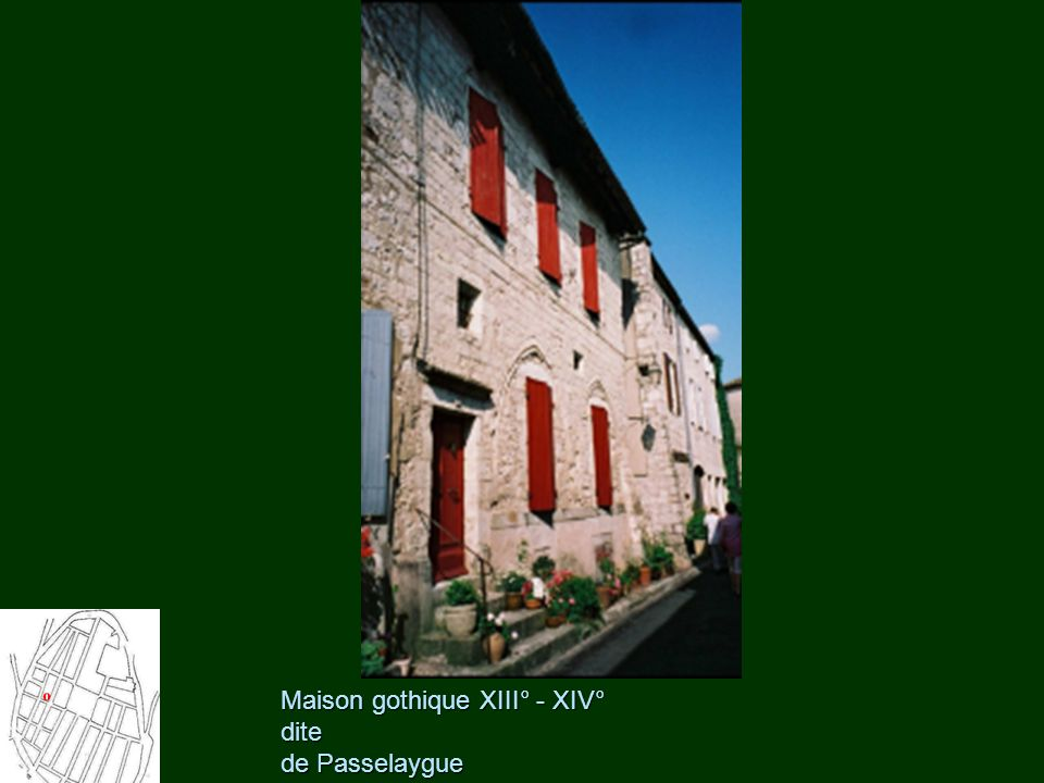Maison gothique XIII° - XIV° dite