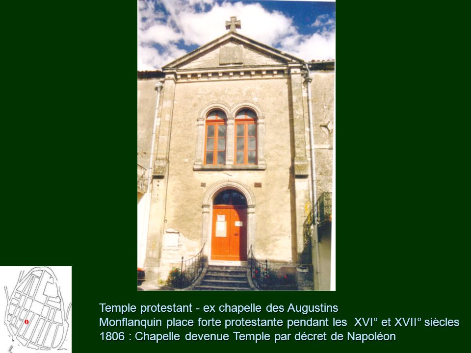 Temple protestant - ex chapelle des Augustins
