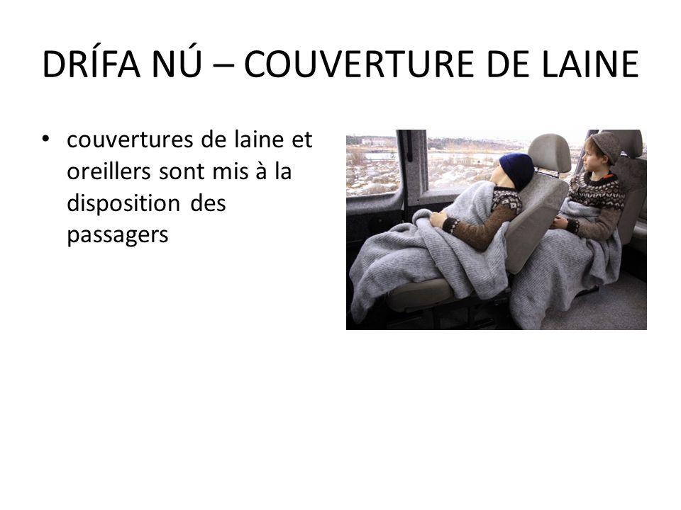 DRÍFA NÚ – COUVERTURE DE LAINE