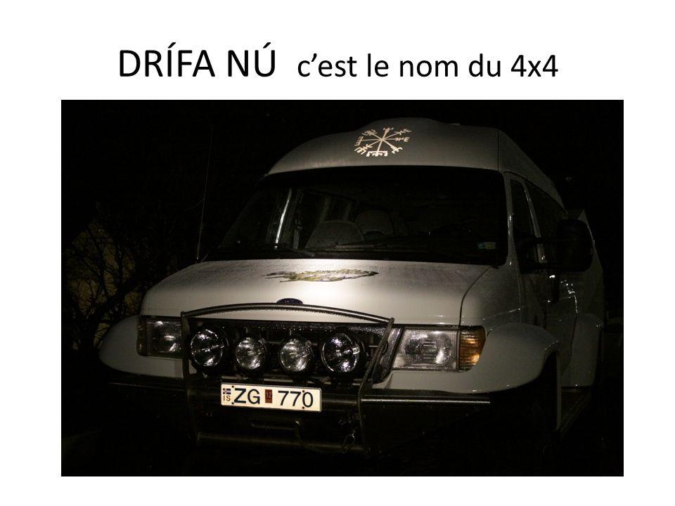 DRÍFA NÚ c'est le nom du 4x4