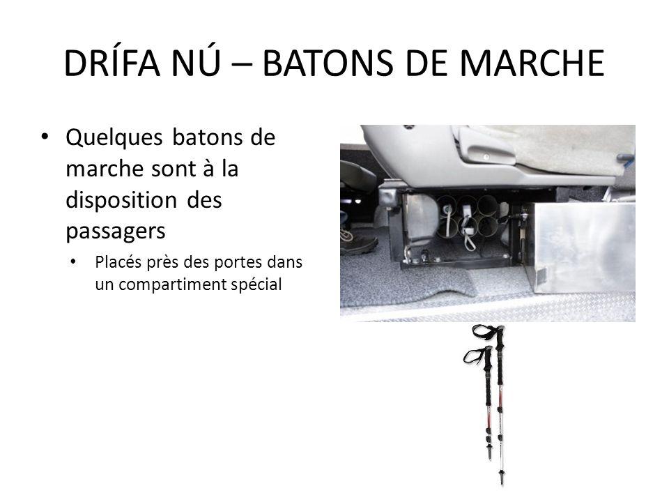 DRÍFA NÚ – BATONS DE MARCHE