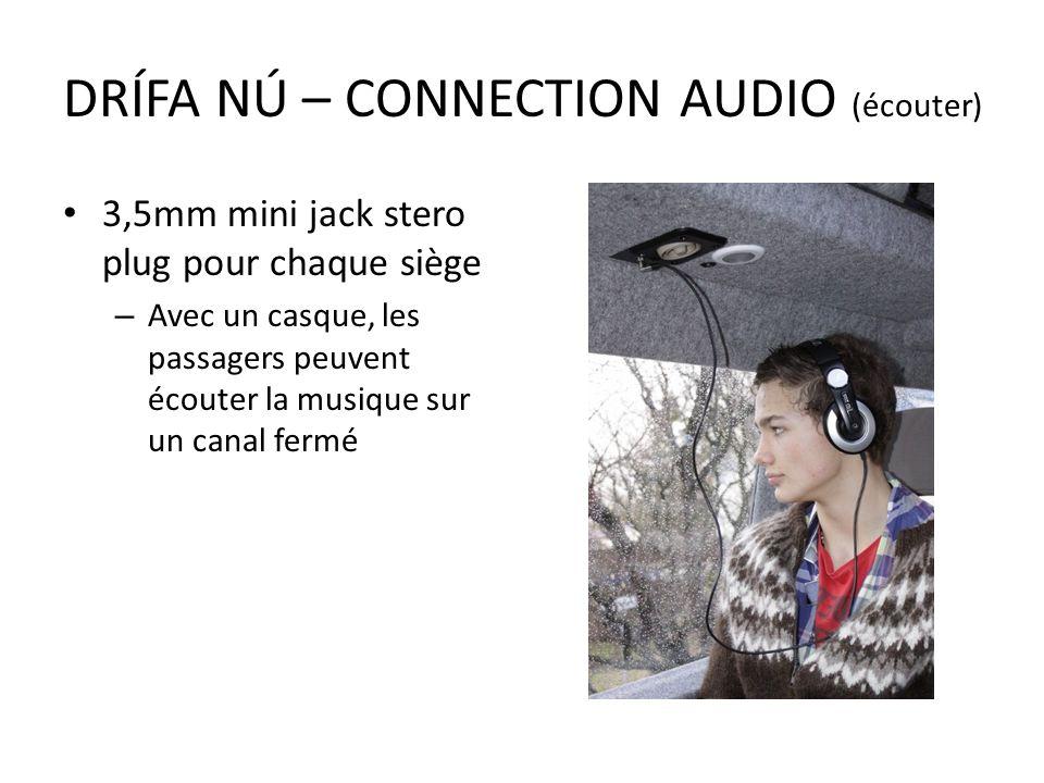 DRÍFA NÚ – CONNECTION AUDIO (écouter)