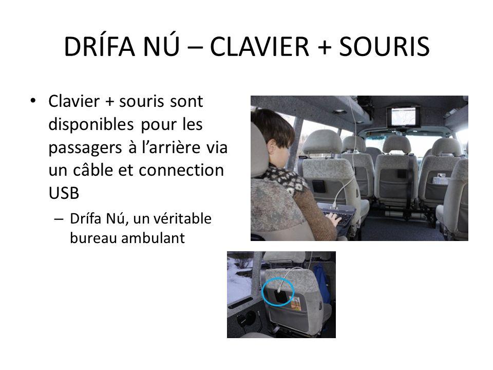 DRÍFA NÚ – CLAVIER + SOURIS