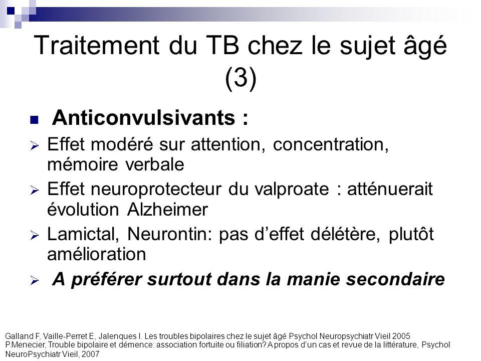 Traitement du TB chez le sujet âgé (3)