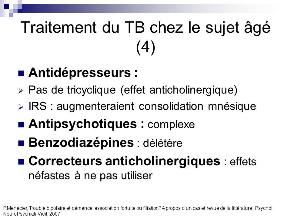 Traitement du TB chez le sujet âgé (4)