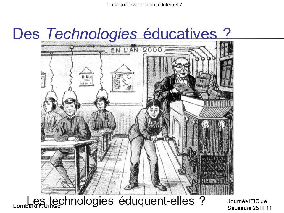 Des Technologies éducatives
