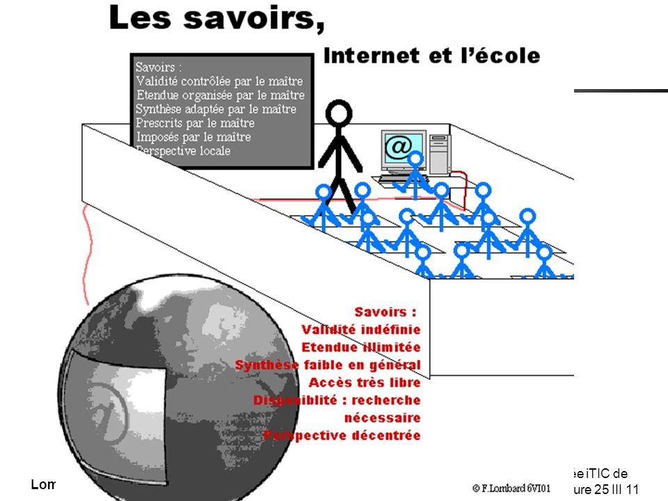 Les savoirs internet et l'école