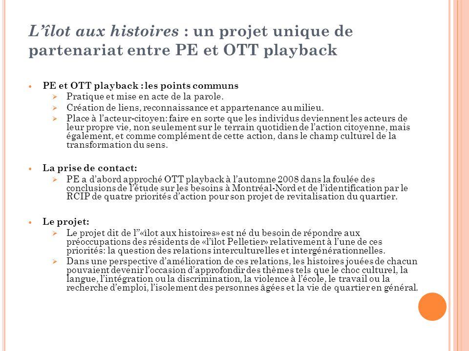L'îlot aux histoires : un projet unique de partenariat entre PE et OTT playback