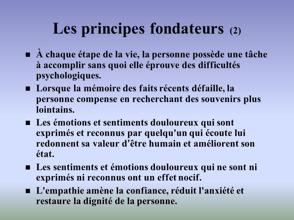 Les principes fondateurs (2)