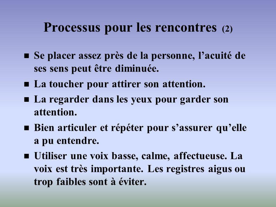 Processus pour les rencontres (2)