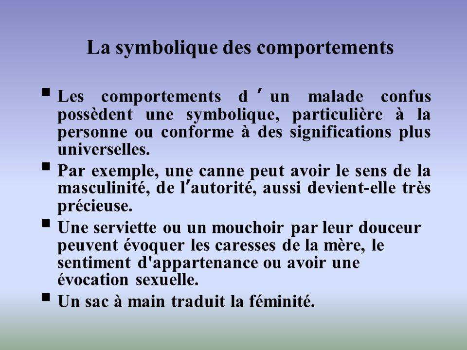 La symbolique des comportements
