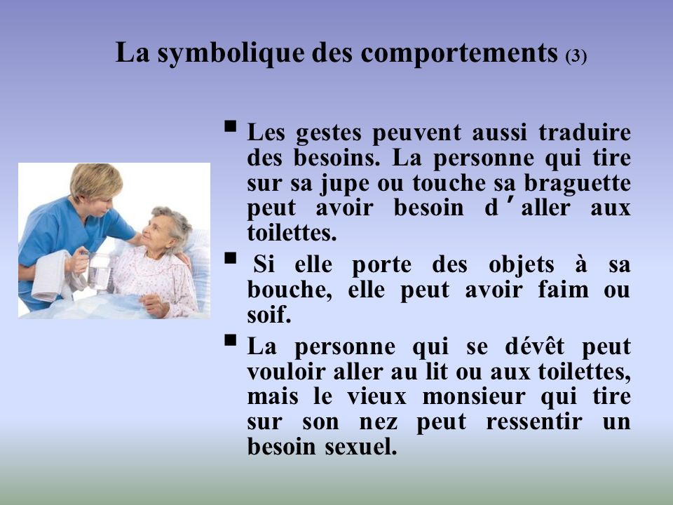 La symbolique des comportements (3)