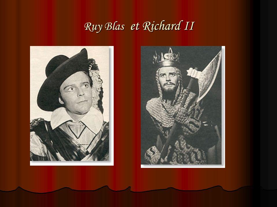 Ruy Blas et Richard II