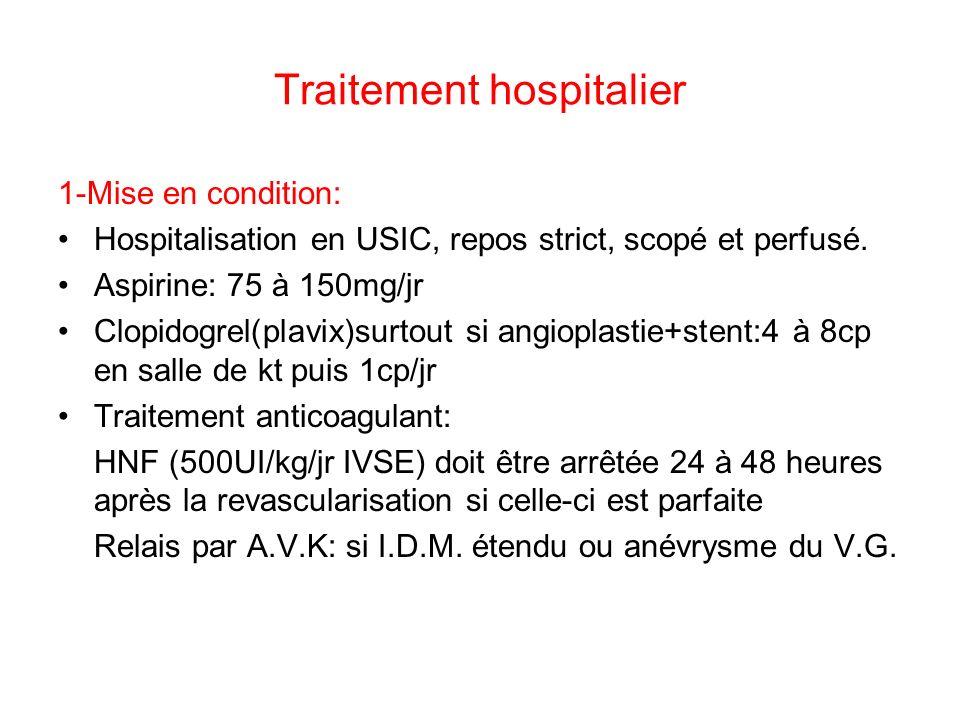 Traitement hospitalier