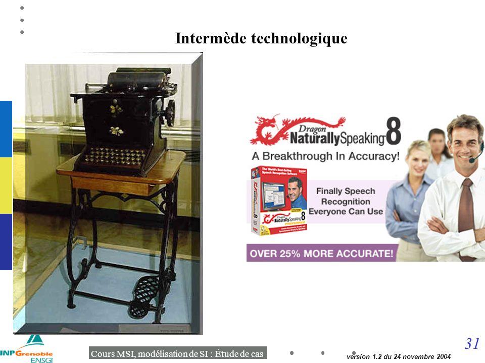 Intermède technologique