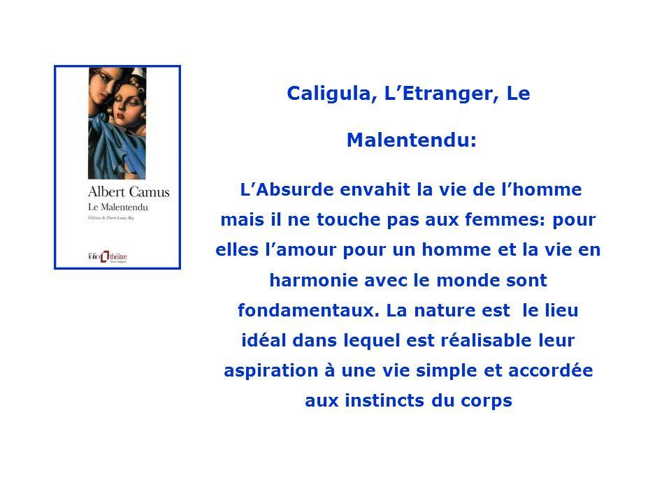 Caligula, L'Etranger, Le