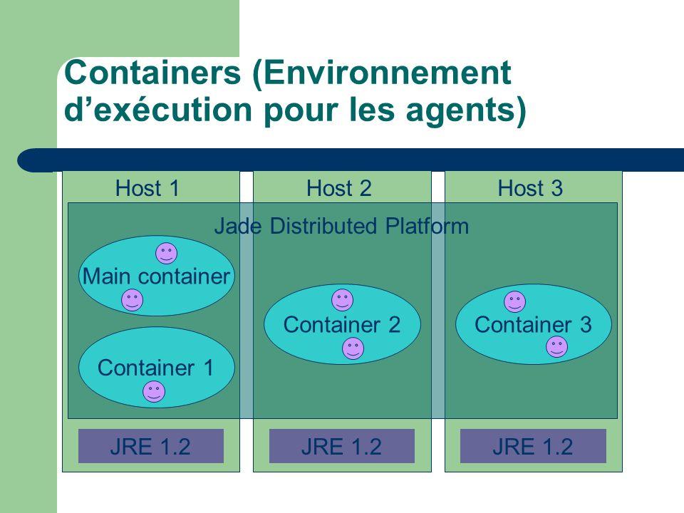 Containers (Environnement d'exécution pour les agents)