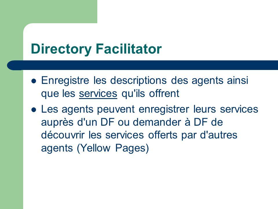 Directory Facilitator