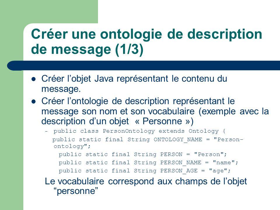Créer une ontologie de description de message (1/3)