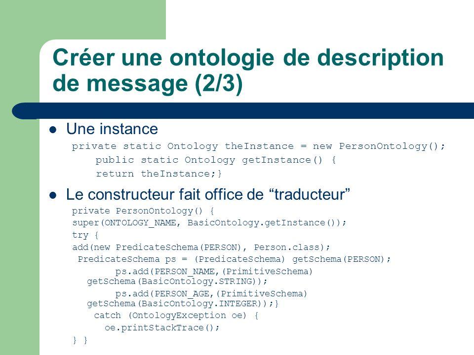 Créer une ontologie de description de message (2/3)
