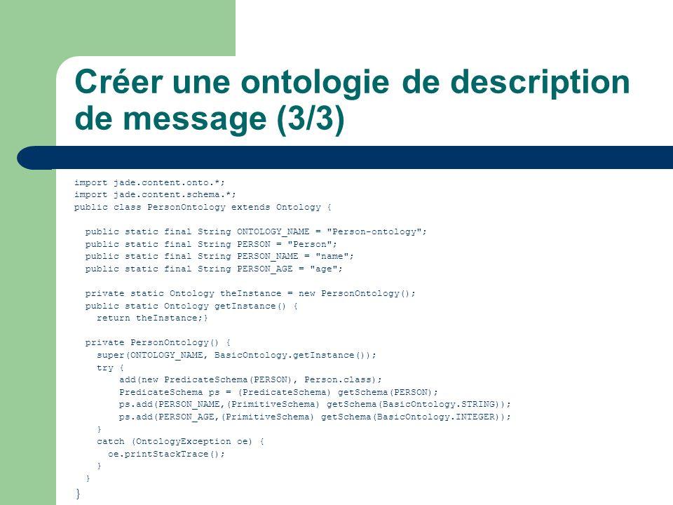 Créer une ontologie de description de message (3/3)