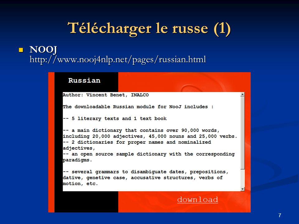Télécharger le russe (1)