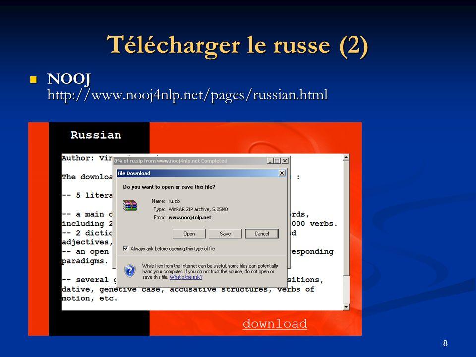 Télécharger le russe (2)
