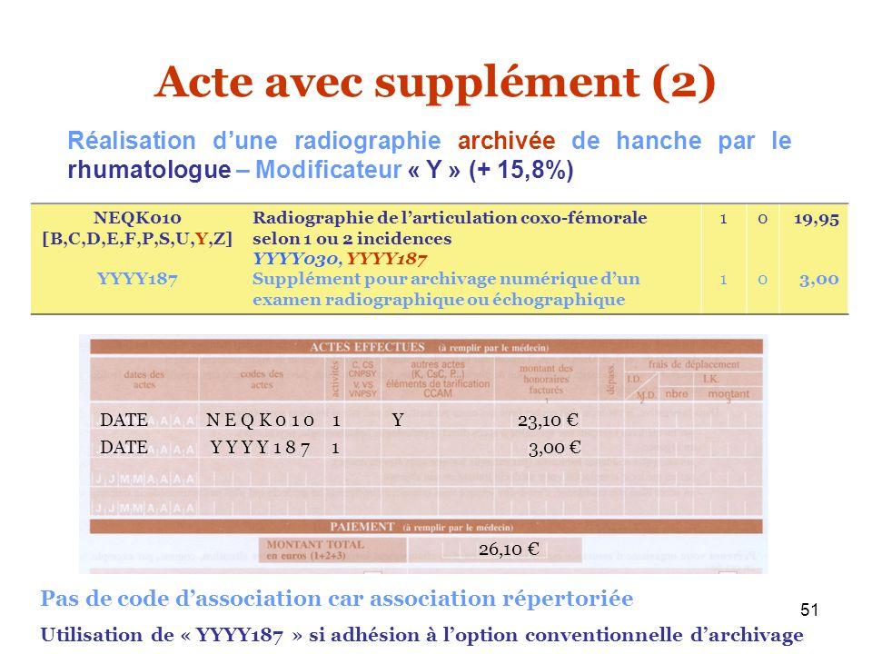 Acte avec supplément (2)