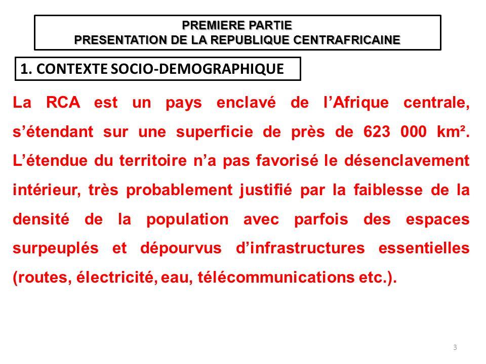 1. CONTEXTE SOCIO-DEMOGRAPHIQUE