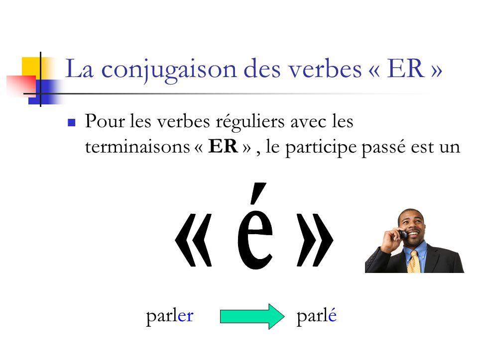 La conjugaison des verbes « ER »