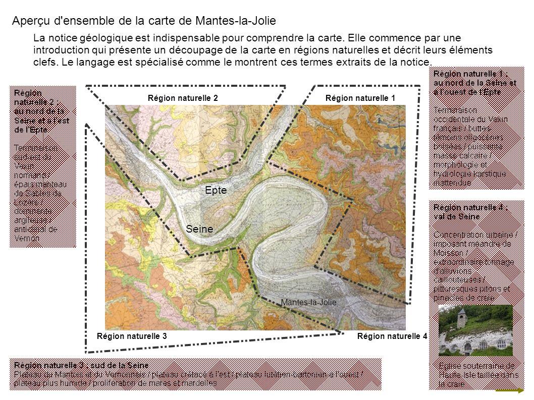 Aperçu d ensemble de la carte de Mantes-la-Jolie