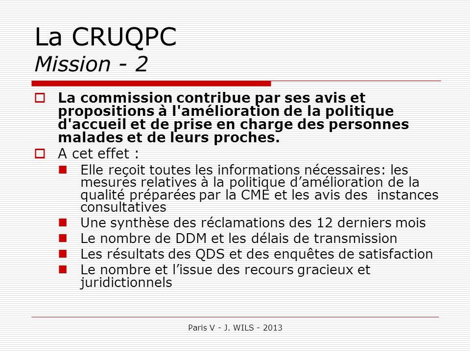 La CRUQPC Mission - 2