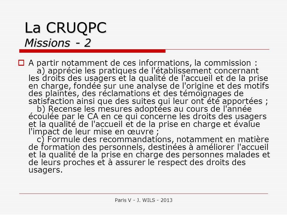 La CRUQPC Missions - 2