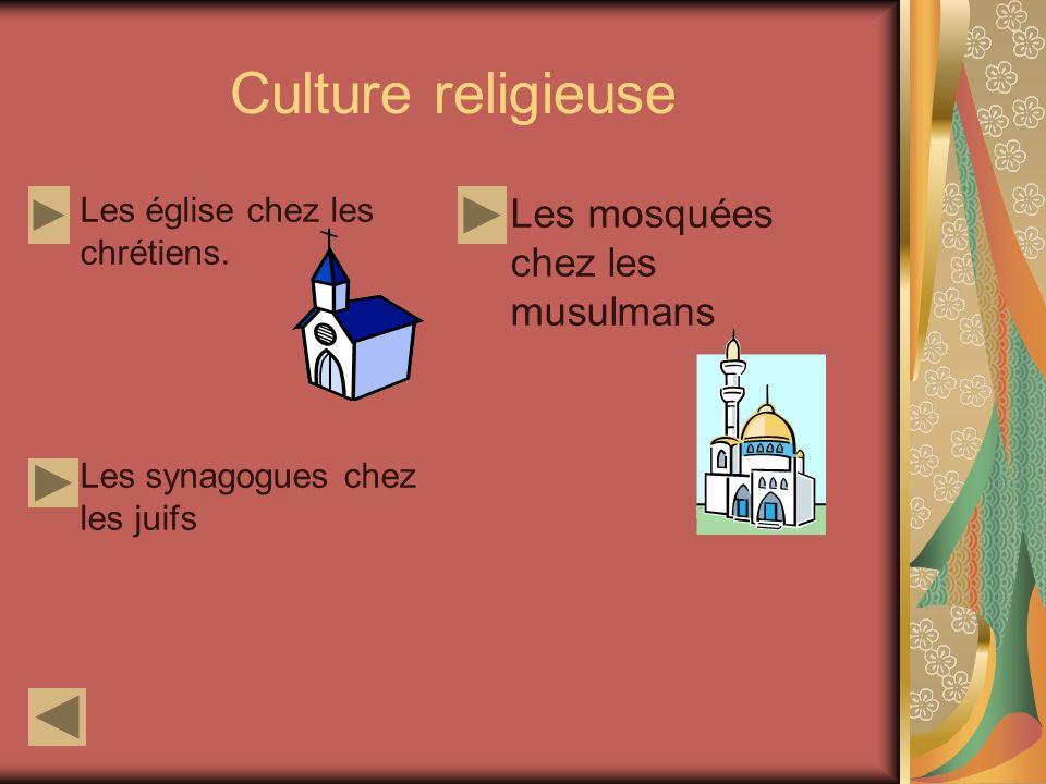Culture religieuse Les mosquées chez les musulmans
