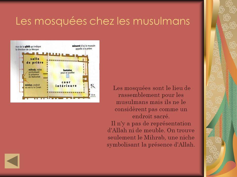 Les mosquées chez les musulmans