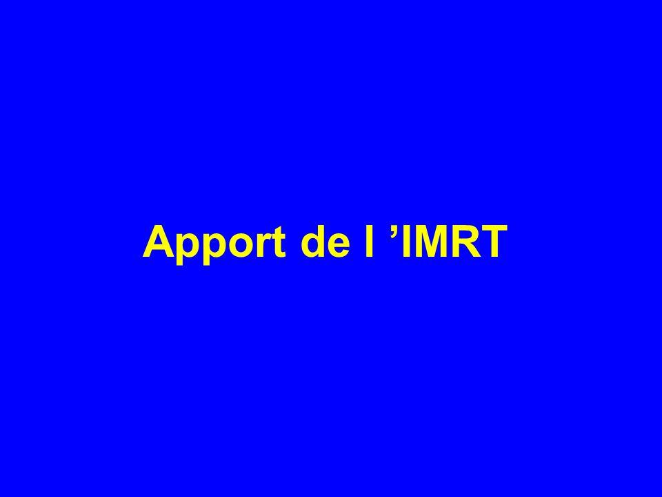 Apport de l 'IMRT