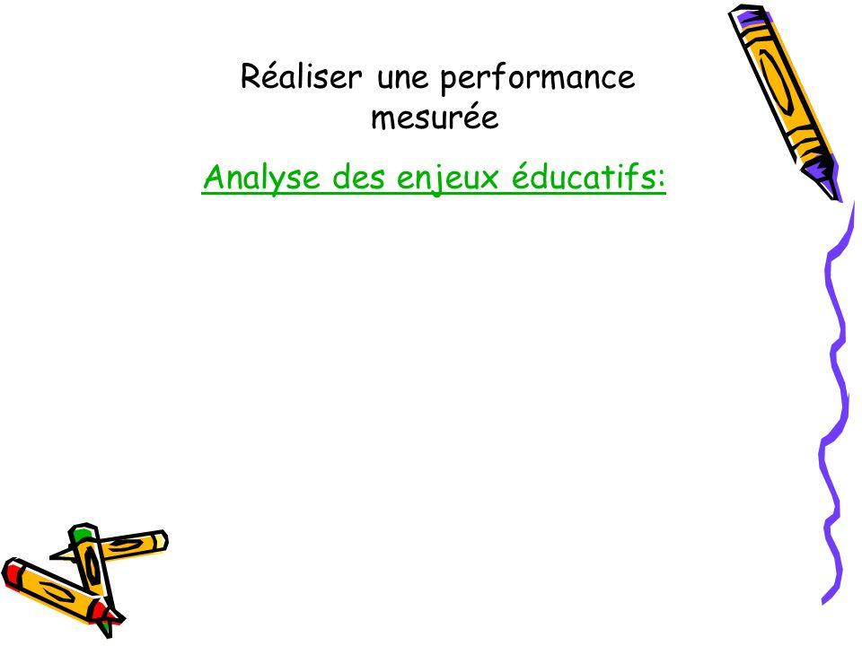 Analyse des enjeux éducatifs: