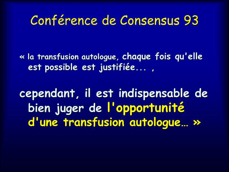 Conférence de Consensus 93