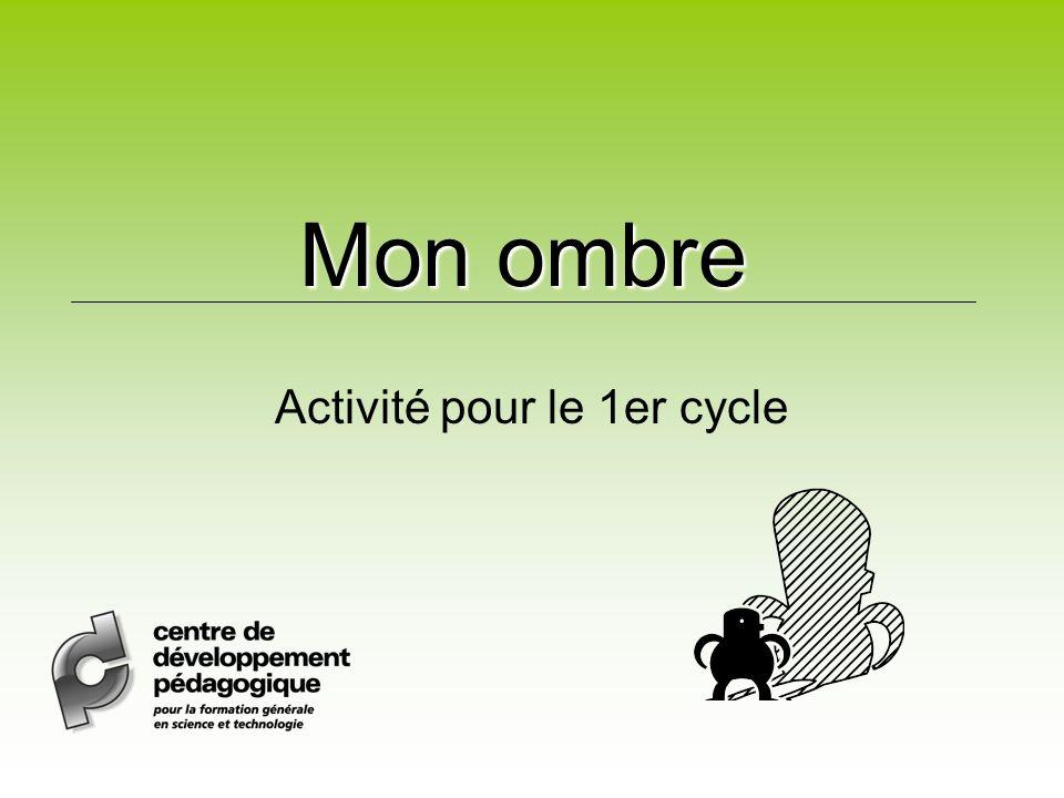 Activité pour le 1er cycle