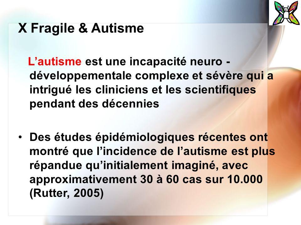 X Fragile & Autisme