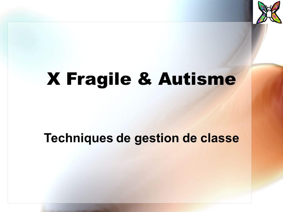 Techniques de gestion de classe