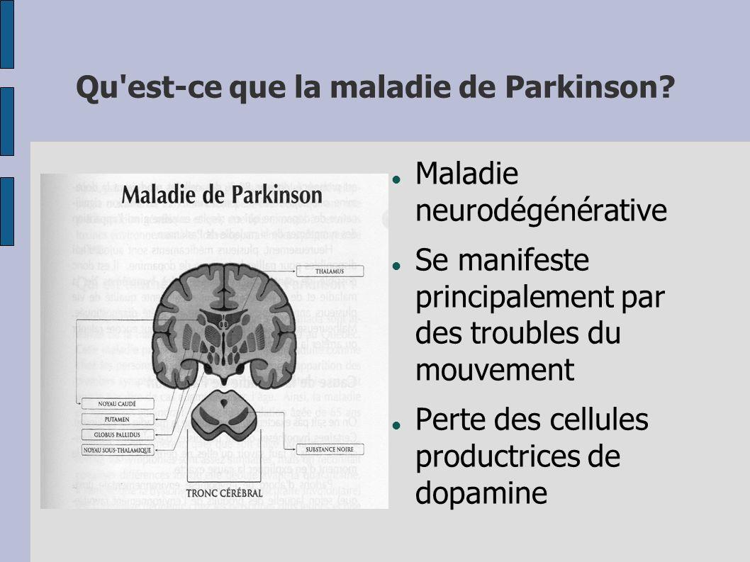 Qu est-ce que la maladie de Parkinson
